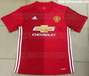 Pic: The leaked Manchester Utd kit for next season