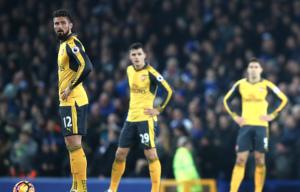 Arsenal mustn't let Everton defeat damage title hopes